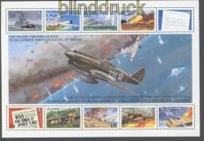 Gambia Block Mi # 157 Geschichte des 2. Weltkrieg postfrisch Flugzeuge (44824)