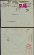 Rumänien Auslands-Zensur-Brief Bukarest 6.2.1943 Doppelzensur (44935)