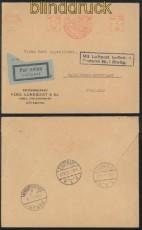 Schweden Auslands-Luftpost-Brief Göteborg 26.8.1931 (45264)