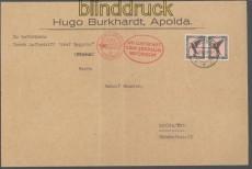 Zeppelinpost LZ 127 Sieger # 92 Ba Mi # 138 b  Landungsfahrt Bern 1930 (45329)