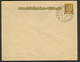 dt. Reich Umschlag Privatbestellung # 92 gestemp(21521)
