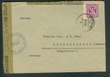 all. Besetz. Bi-Zone Zensurbrief Stuttgart 1945 (26154)