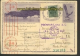 Ungarn Auslands-Zensur-GSK 1942 dt. Zensur   (21936)