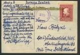 Österreich Auslands-Zensur-Postkarte Wien 2.1.4 (21920)