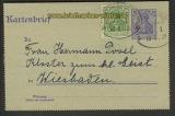 Bentheim-Neuenhaus Zug 1 13.5.1921 Kartenbrief (21306)
