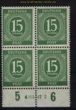 all. Besetzung Mi # 922 postfrischer 4er-Block mit HAN 4015.47 2 (29135)
