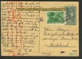 Ungarn Auslands-Zensur-GSK dt. Zensur 1941 (21937)