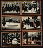Grünberg in Schlesien 50 Pfennig Notgeld Serie von 6 Scheinen kassenfrisch (30630)