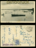 Ungarn sw-Foto-AK Agard Tórészlet mit Nachporto belegt 1941 (40335)