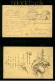 Österreich Feldpost 1. WK Feldpostamt 287 24.10.1916 (42319)