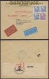 Schweden Auslands-LuPo-Eil-Zensur-Brief Stockholm 26.7.1940 (44941)