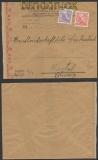Schweden Auslands-Zensur-Brief Stockholm 13.7.1943 (44942)
