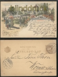 Ungarn GSK P 19 Jahrtausendfeier Budapest 22.2.1897  (45166)