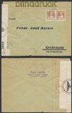Schweden Auslands-Zensur-Brief Nockeby 15.1.1941 (44943)