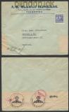 Schweden Auslands-Zensur-Brief Falköping 8.4.1940 (44944)