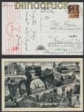 Ungarn Auslands-Zensur-Karte Szeged 1943 mit deutscher Zensur (45054)