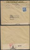 Schweden Auslands-Zensur-Brief Stockholm 5.4.1940 (44945)