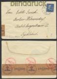 Schweden Auslands-Zensur-Brief Perstorp 5.4.1940 (44951)