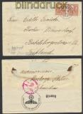 Schweden Auslands-Zensur-Brief Perstorp 21.10.1940 (44952)