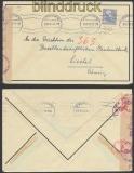 Schweden Auslands-Zensur-Brief Stockholm 10.8.1943 (44953)
