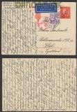 Schweden GSK P 51 Auslands-LuPo-Zensur-Karte Göteborg 29.4.1942 (44949)