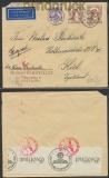 Schweden Auslands-LuPo-Zensur-Brief Göteborg 12.2.1942 (44938)