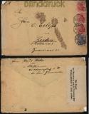dt. Reich Auslands-Zensur-Brief 1920 Auf Grund der Verordnung ..... (29420)