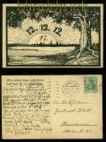 dt. Reich AK 12.12.1912 Hannover Will´st nachmal solche Karten.....(42215)