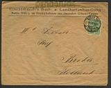 dt. Reich Mi # 143 a EF Auslandsdrucksache 1920 (23720)