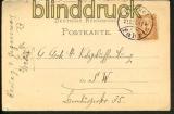 Stadtpost Berlin Mi # 25 EF Postkarte 21.12.1887(17594)