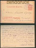 Magdeburg Stadtpost-Ganzsachenkarte 1896 (25500)