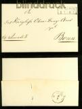 Goslar 1845 nach Dassel Vorphilabrief Comite der Abgebrannten (44602)