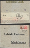 Schweiz Auslands-Zensur-Brief Solothurn 1941 Deutsche Zensur (44963)