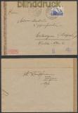 Schweiz Auslands-Zensur-Brief Troggen 1943 Deutsche Zensur (44975)