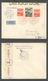 Slowakei MiF Auslands-Zensur-LuPo-Brief Bratislava 1940 (43060)