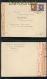 Slowakei MiF Auslands-Zensur-Brief Ruzomberok Rosenberg 1942 (43061)