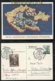 dt. Reich Mi # 694 Propagandakarte Wir deanken dem Führer (44753)