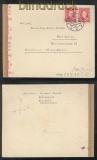 Slowakei Mi # 40 (2) MeF Auslands-Zensur-Brief Ruzomberok Rosenberg 1942 (43065)