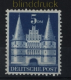 Bi-Zone Bauten Mi # 100 I postfrisch Type I (34034)