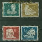 DDR Mi #  256/59 postfrisch Johann Sebastian Bach (41648)