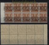 Bi-Zone Mi #  44 I NK b (5) postfrisch geprüft Schlegel BPP (33040)