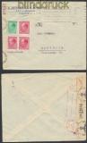 Bulgarien Auslands-Zensur-Brief Sofia 1941 deutsche Zensur (44875)