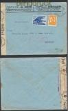 Bulgarien Auslands-Zensur-Brief Sofia 1940 deutsche Zensur (44882)