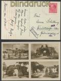 Bulgarien Auslands-Zensur-Karte Hissar 15.7.1943 nach Düsseldorf (44870)