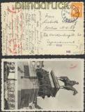 Bulgarien Auslands-Zensur-Karte Sofia 30.10.1940 nach Berlin (44868)