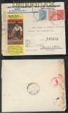 Bulgarien Auslands-Zensur-R-Brief Sofia 20.11.1942 nach Wasungen (44093)