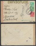 Bulgarien Auslands-Zensur-Brief Plovdiv 1942 deutsche Zensur (44873)