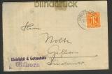 Bi-Zone Mi # 21 EF Ortsbrief Gifhorn (23685)