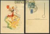 Ausstellungspostkarte Regensburg 1949 SSt. (20839)