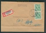 all. Besetzung R-Brief Not-R-Zettel Schüttorf 1946 (26245)